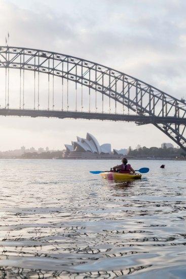 Sunrise Paddle Sydney Harbor 201814