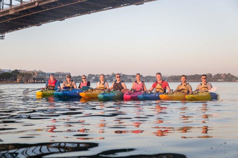 Sunrise Paddle Sydney Harbor 201815