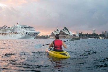 Sunrise Paddle Sydney Harbor 20183
