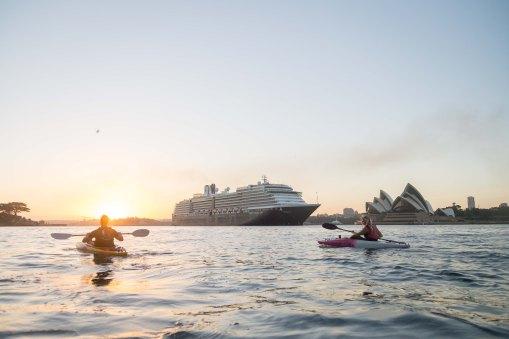Sunrise Paddle Sydney Harbor 20185