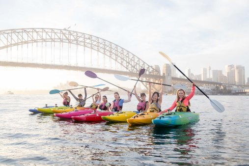 Sunrise Paddle Sydney Harbor 20186