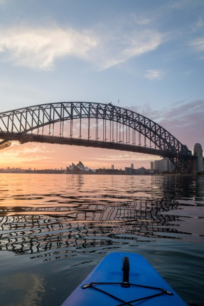 Sunrise Paddle Sydney Harbor 20187
