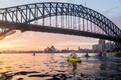Sunrise Paddle Sydney Harbor 20188