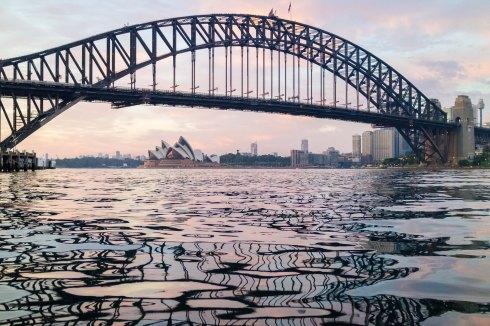Sunrise Paddle Sydney Harbour April 2