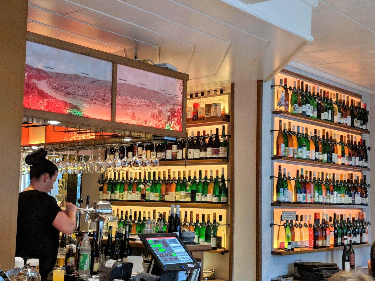 Zeltingen Hof - restaurant with over 100 wines by the glass for tasting