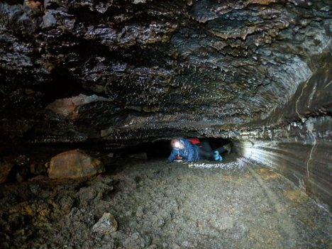 Caving is a serious business - Iceland
