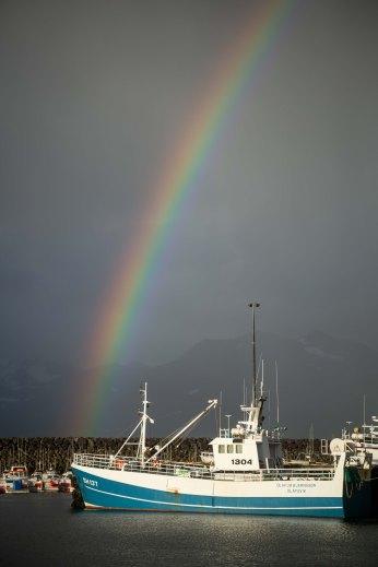 Ólafsvík Rainbow Iceland