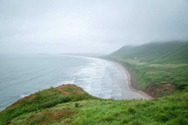 Rhossili, southern most point of Wales