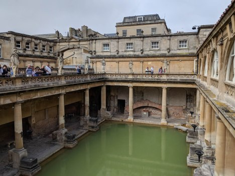 Roman Baths in Baths - the Victorian addition