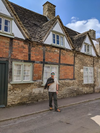 Historic town of Lacock