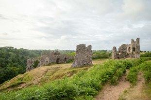Pennard Castle, Gower Peninsula