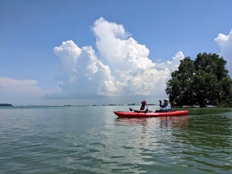 Semakau kayaking